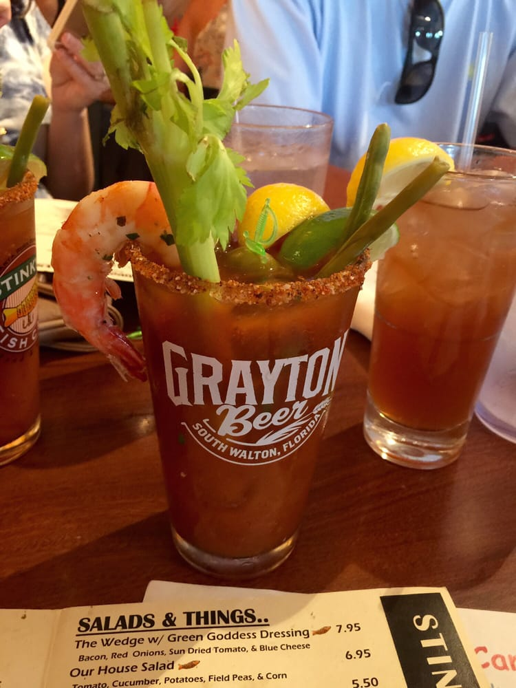 Ultimate bloody mary yelp for Marys fish camp fl