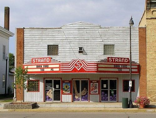 Strand Theatre: 115 E Michigan Ave, Paw Paw, MI