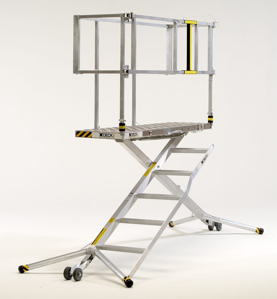 Portable Scaffolding Platform : Safety work platform it is a hybrid ladder scaffolding