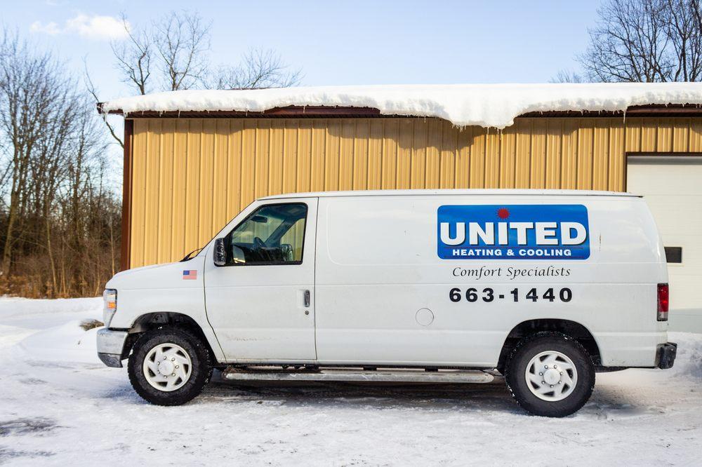 United Heating & Air: 11 Stablegate Dr, Webster, NY
