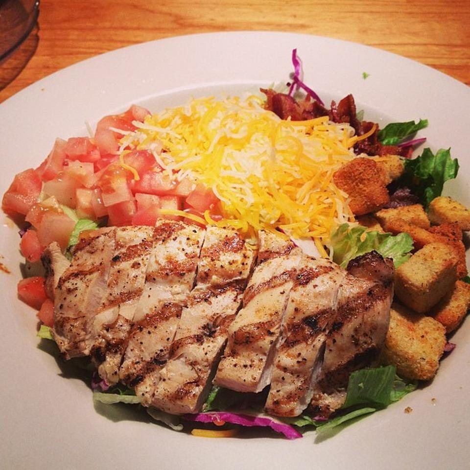 Grilled Chicken Club Salad Yelp