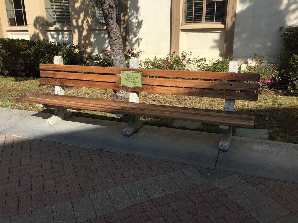 forrest gump bench - 1000×750