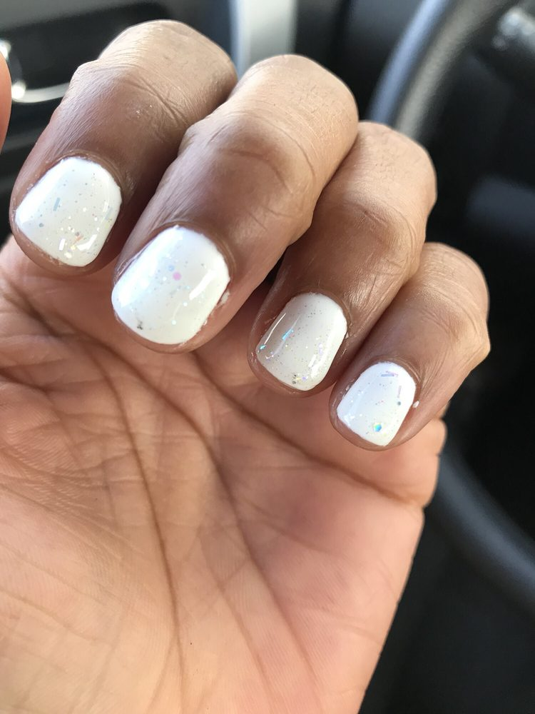 The gel is so thick my nails are already short why make them look ...