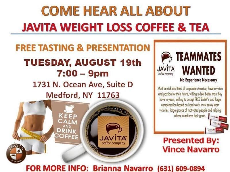 Garcinia Cambogia Javita Weight Loss Coffee Coffee Tea 190