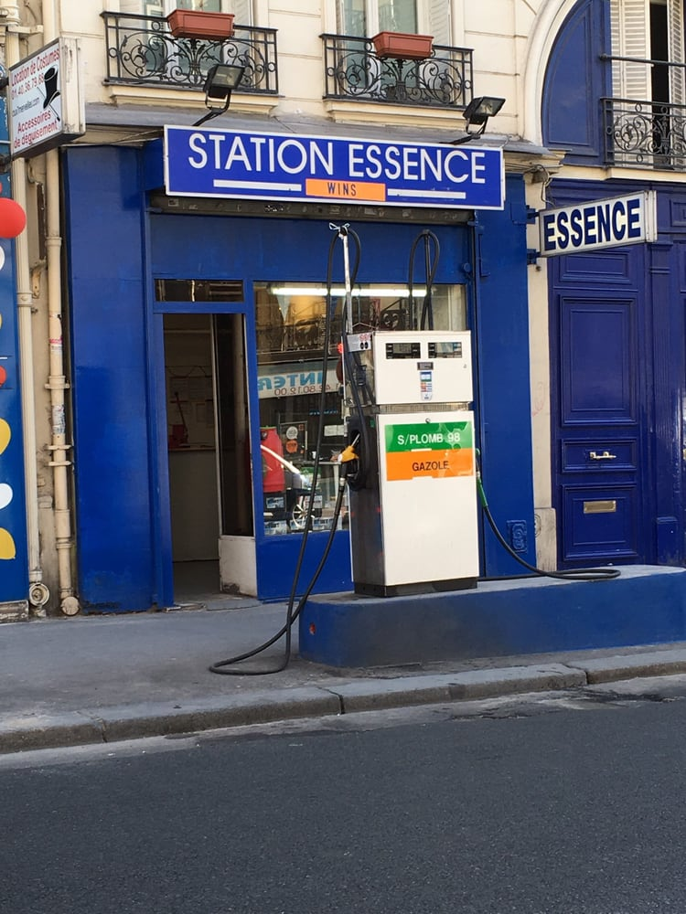 station essence wins gas stations 142 rue la fayette gare du nord la chapelle paris. Black Bedroom Furniture Sets. Home Design Ideas