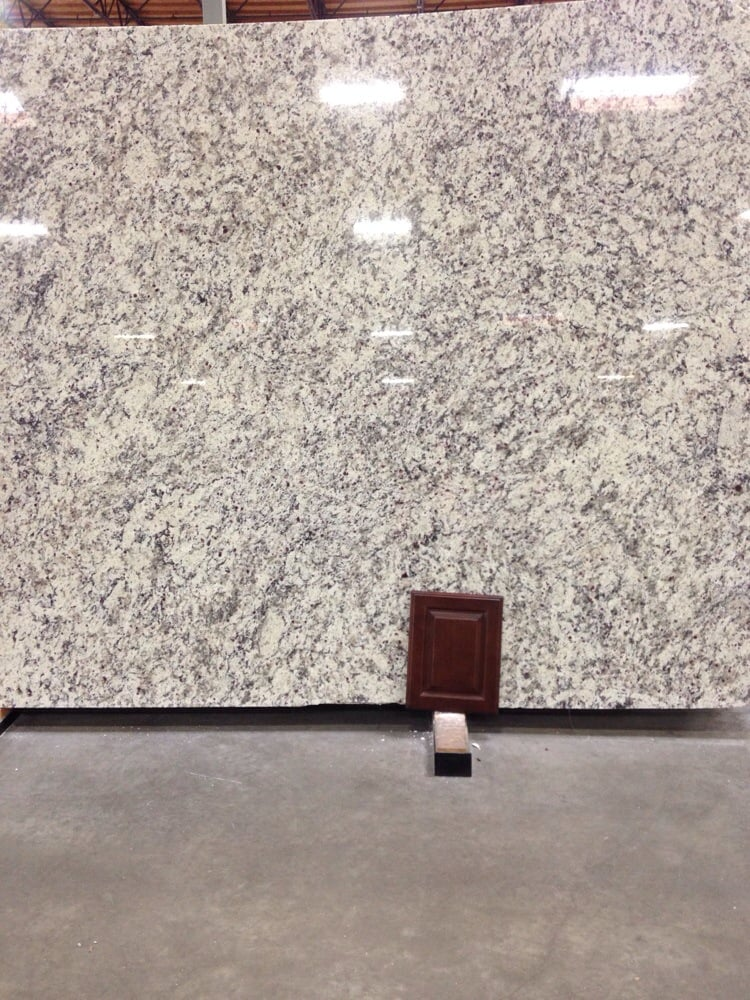 The Ashen White Slab Of Granite We Chose And A Sample Of Our - Daltile order samples