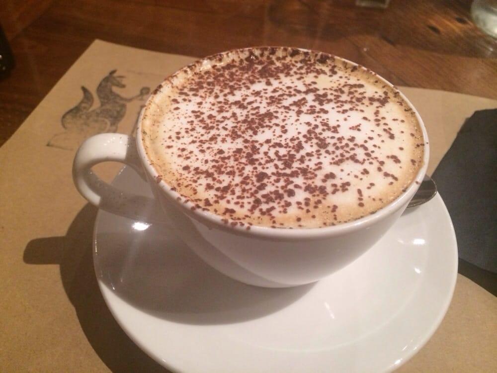 vanilla cappuccino with fresh vanilla bean yelp. Black Bedroom Furniture Sets. Home Design Ideas