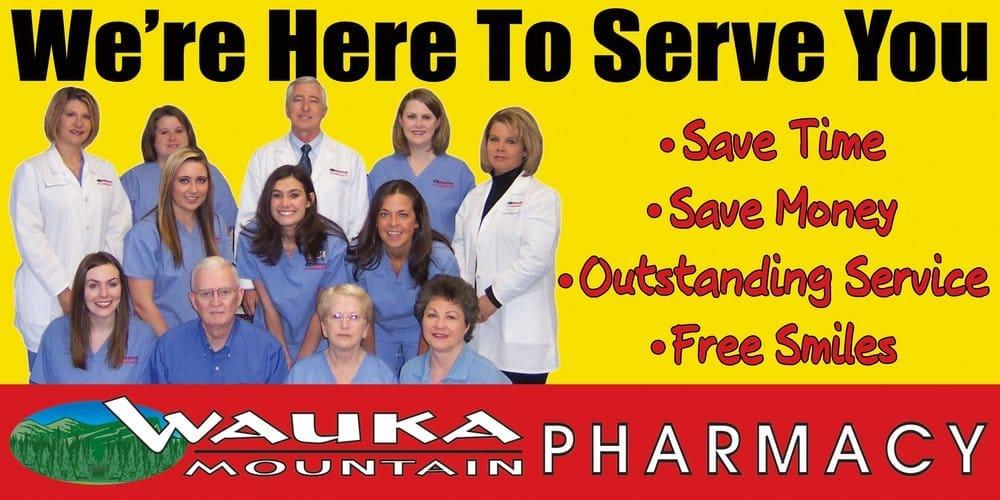 Wauka Mountain Pharmacy: 5233 Cleveland Hwy, Clermont, GA