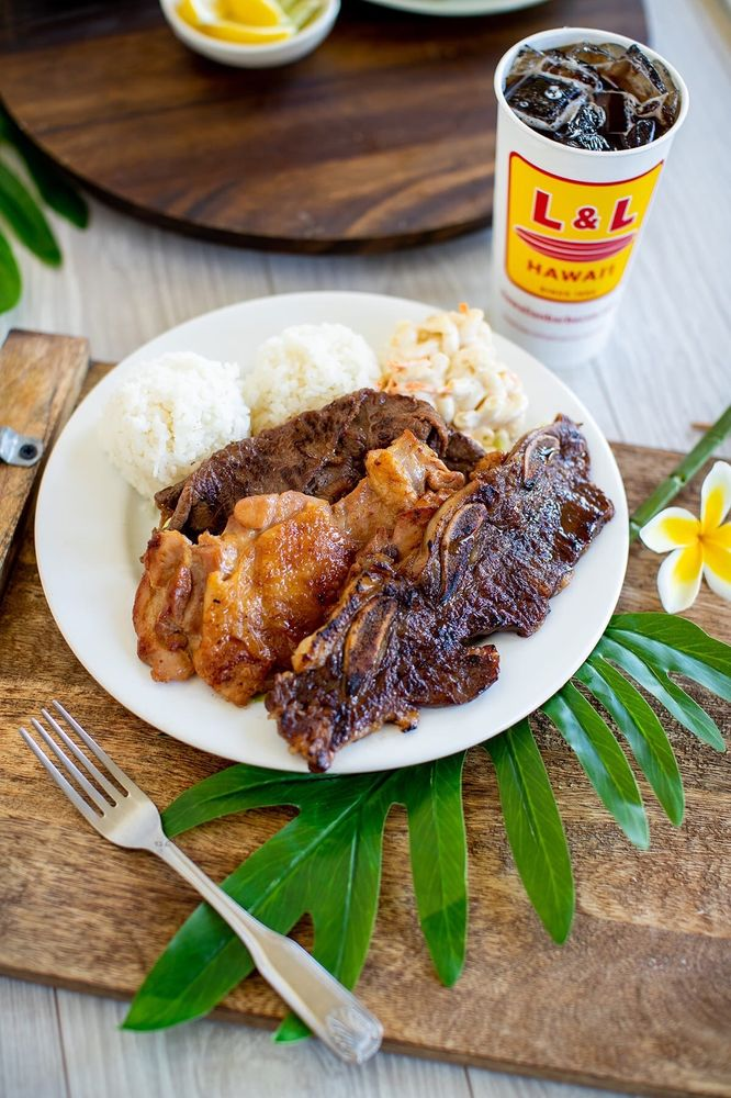L&L Hawaiian Barbecue: 717 Eden Way N, Chesapeake, VA
