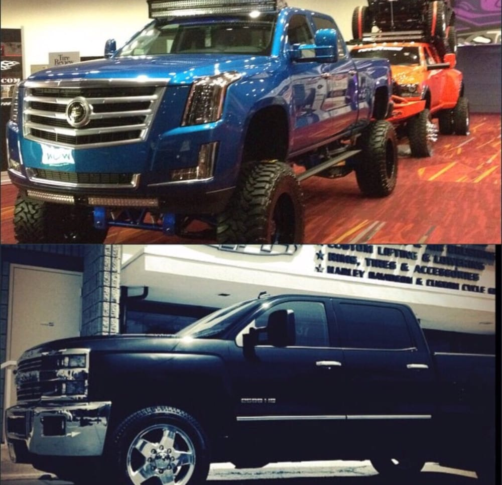 Before And After 2015 Chevy Hd To Cadillac Front End Conversion Yelp