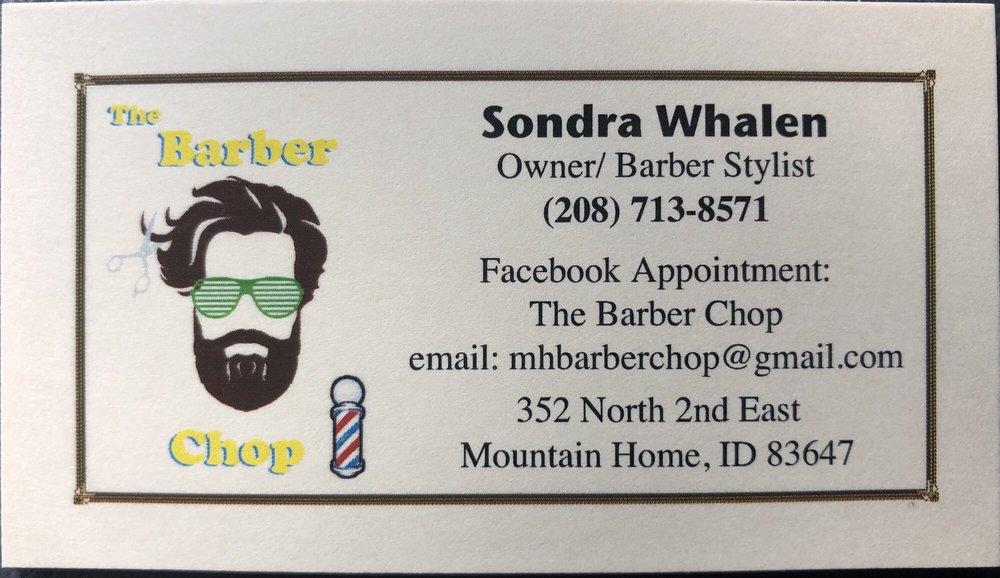 The Barber Chop: 352 N 2nd E St, Mountain Home, ID