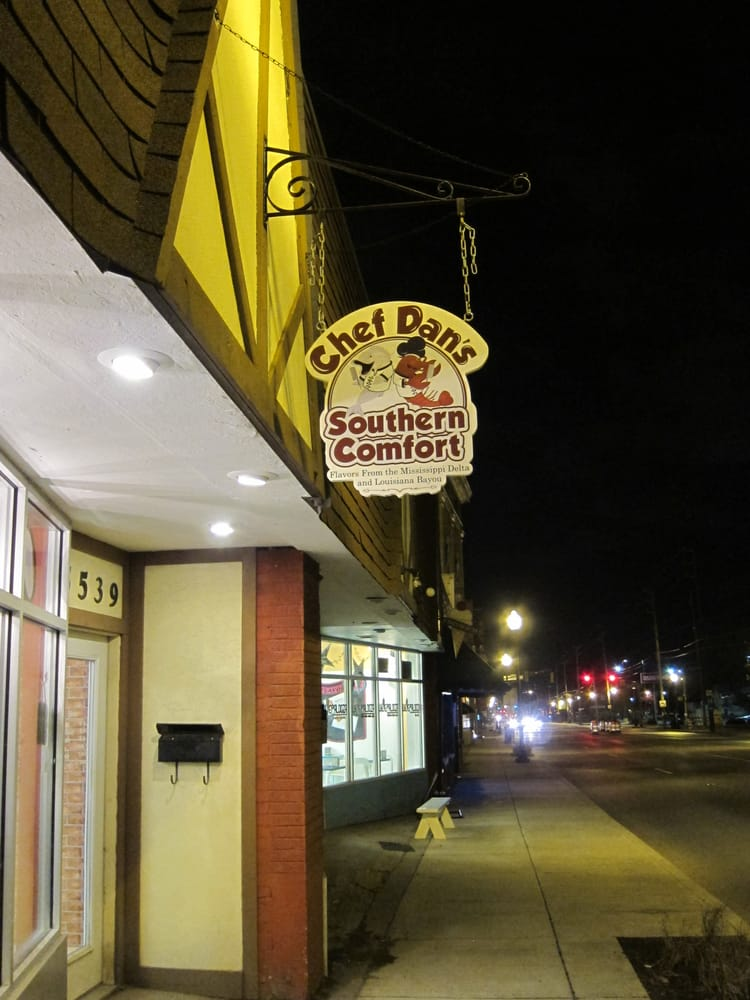 Chef Dan S Southern Comfort Restaurant Indianapolis In