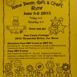La Mesa Home Decor, Gift and Craft Shows by Moonlight