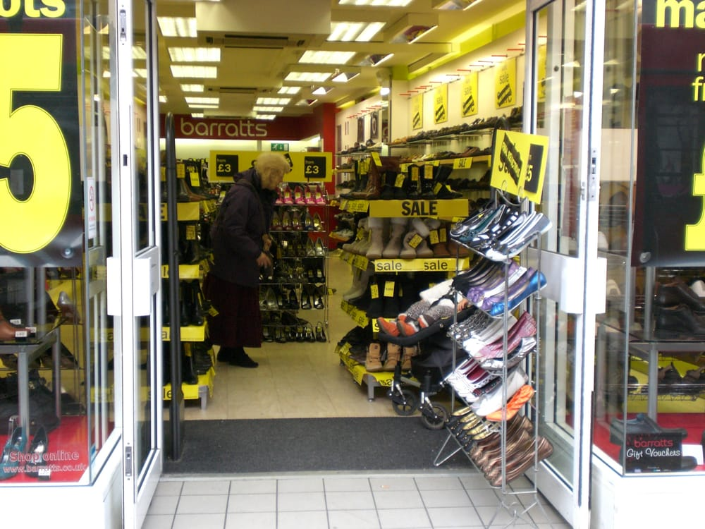 Barratts Shoe Shops Location