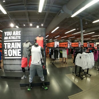 Well, obviously we all know the Nike brand! This store is very clean, organized and the staff is very professional and helpful. A great selection of many things from shoes, socks, sweats, 8/10(52).