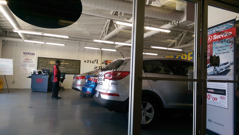 Kia service center yelp for Kia motors downtown la