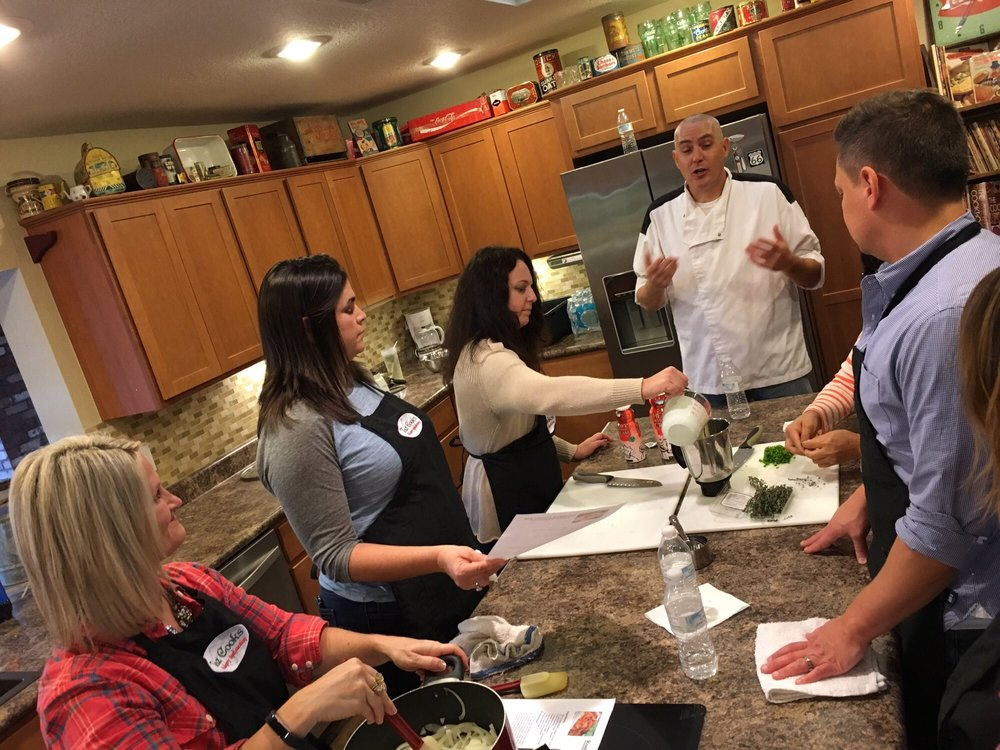 Taz Cooks Cooking Classes