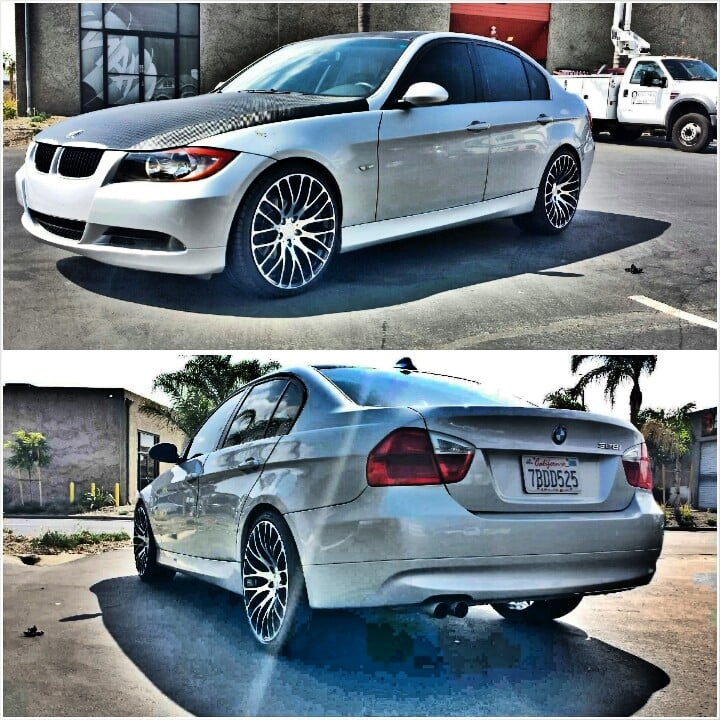 Bmw 325i On Mrr Hr6 Wheels