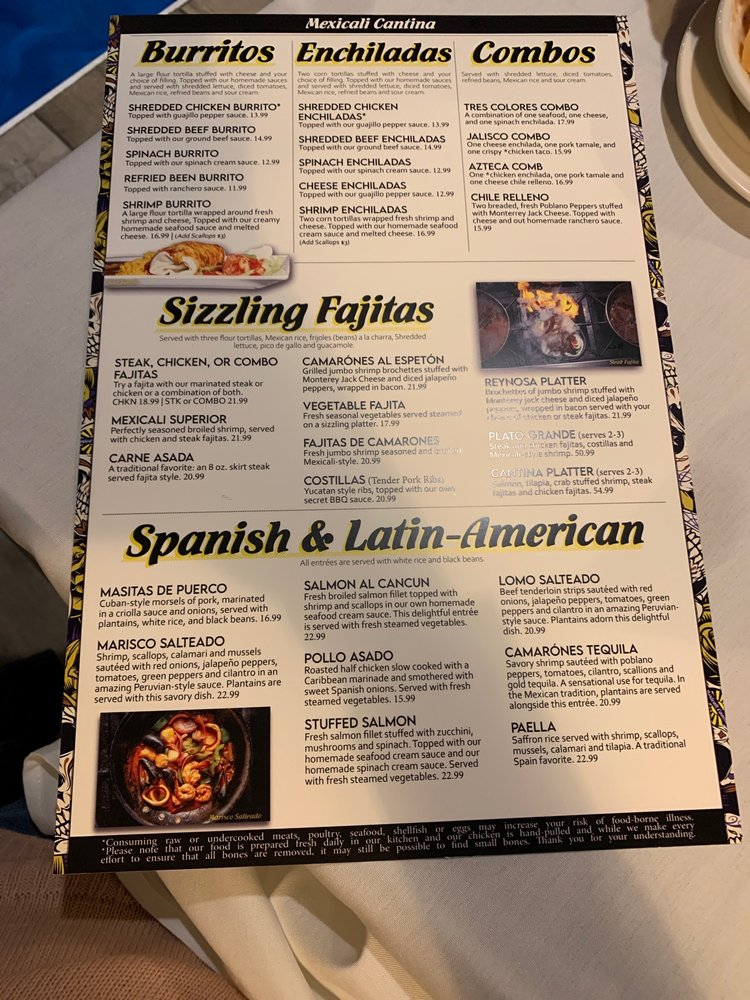 Mexicali Cantina: 1703 Massey Blvd, Hagerstown, MD