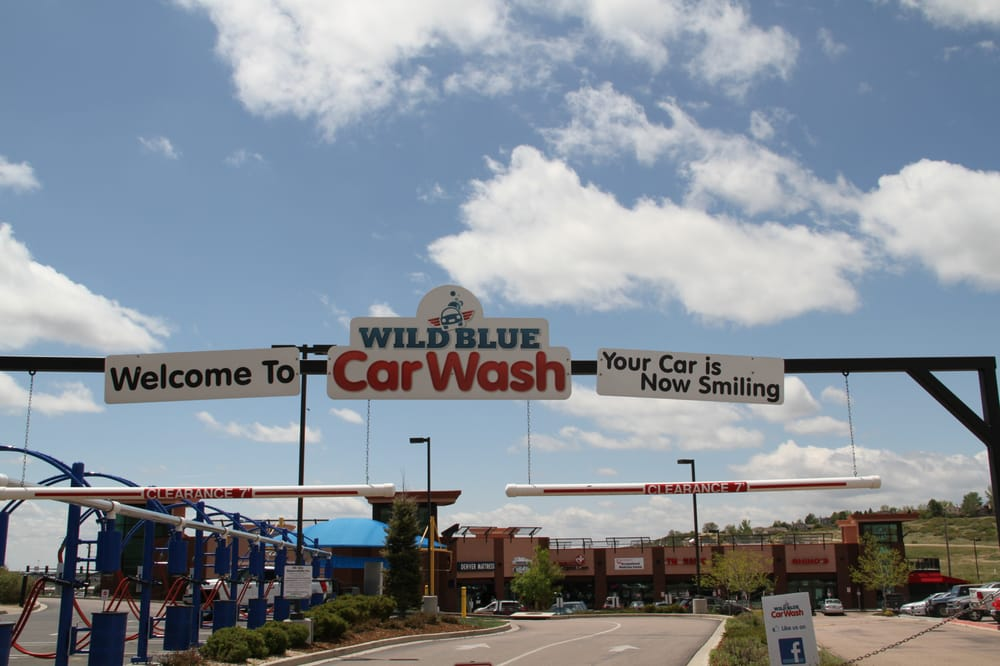 Wild Blue Car Wash