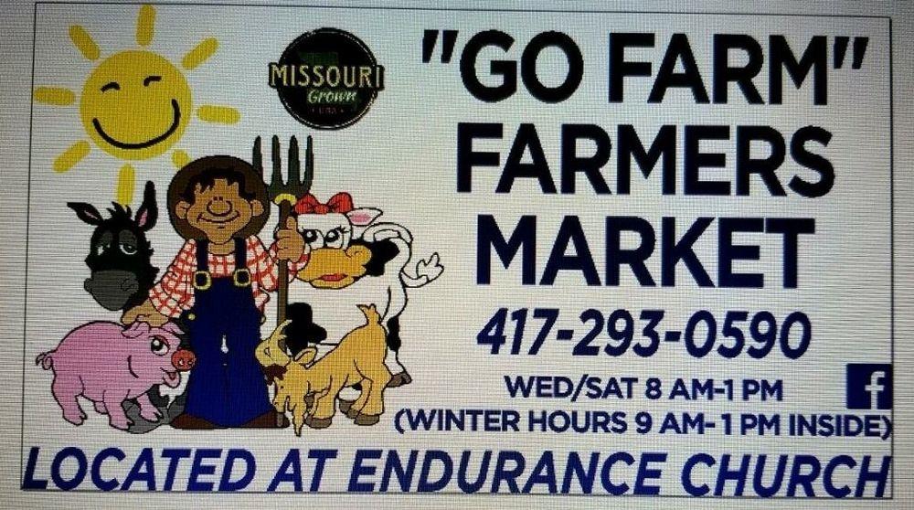 Go Farm Farmers Market: 805 Worley Dr, West Plains, MO