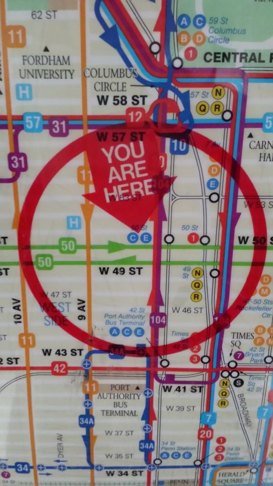 New York Subway Map Red.Mta Bus And Subway Map Yelp