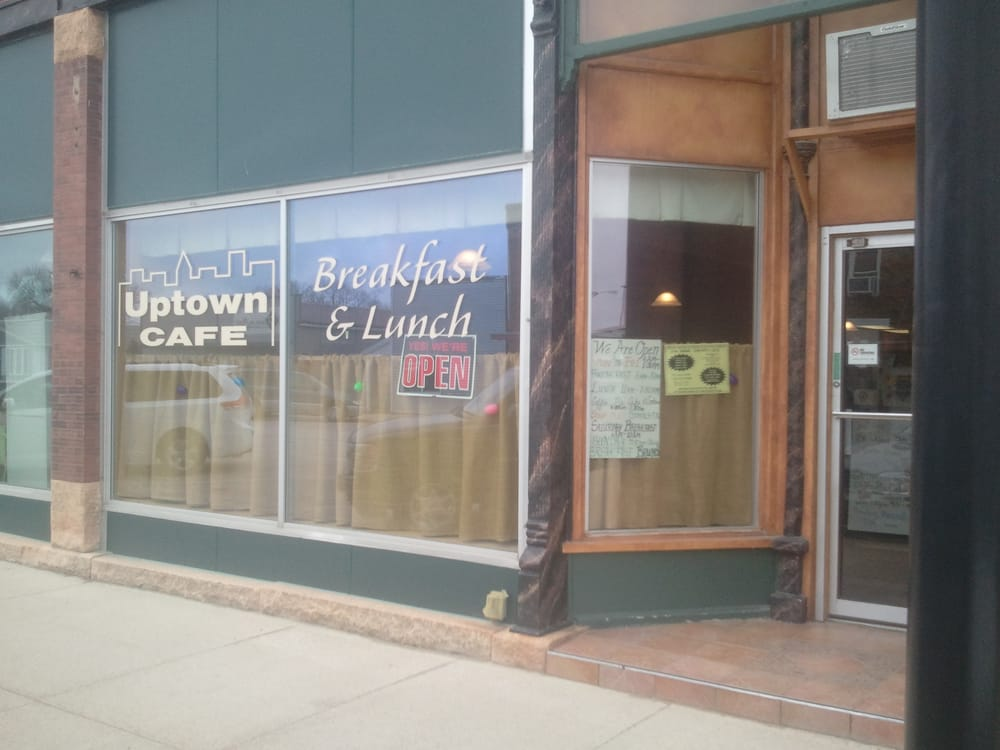 Uptown Cafe: 215 S Broadway Ave, West Bend, IA