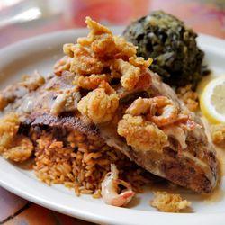 Foto Zu Oceana Grill   New Orleans, LA, Vereinigte Staaten. Blackened  Redfish LaFourche