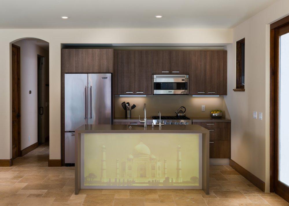 Photo of Porcelanosa - San Diego, CA, United States. GamaDecor Kitchen Cabinets
