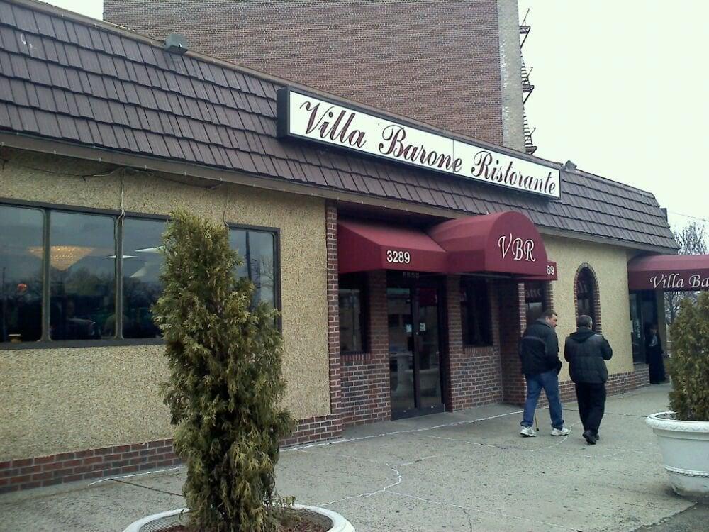 Villa Barone Restaurant Bronx Ny