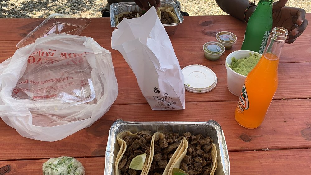 Food from Taco Caliente
