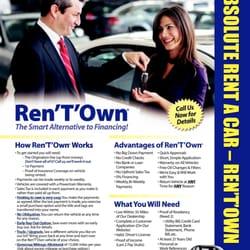Absolute Cars Rent 2 Own - Car Rental - 353 Willard Ave
