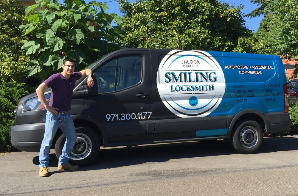 Smiling Locksmith