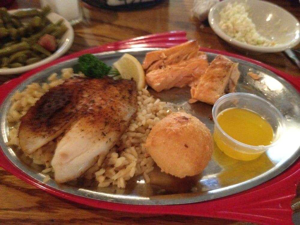 Salmon talipia yelp for King fish louisville