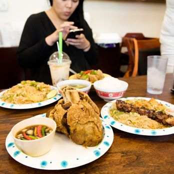 Photo Of Filipino Cuisine Angier Nc United States Crispy Pata And Combination