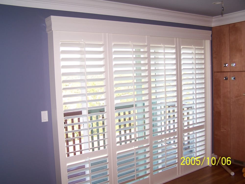 Norman Woodlore Bifold Shutter System For Sliding Glass Doors Yelp