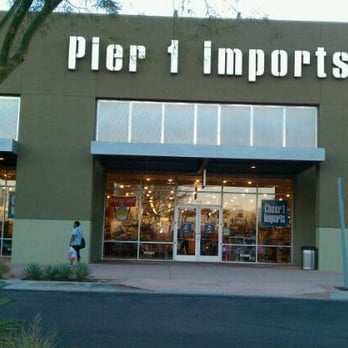 Pier 1 Imports Pier 1 Imports stores in Toronto - Hours, phones and locations Here you can find all the Pier 1 Imports stores in Toronto. To access the details of the store (location, opening hours, Pier 1 Imports online and current flyers) click on the location or the store name.