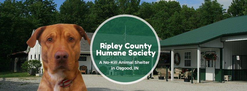 Ripley County Humane Society: 1202 W County Road 150 N, Osgood, IN