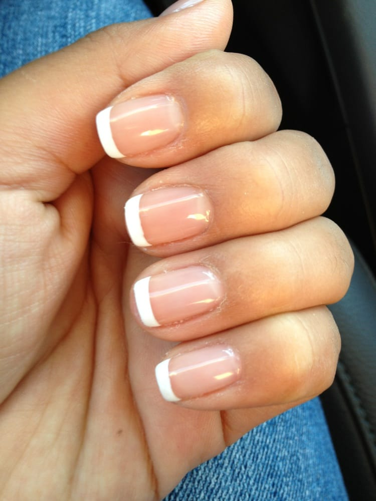 French Tip Nails: Gel French Tips