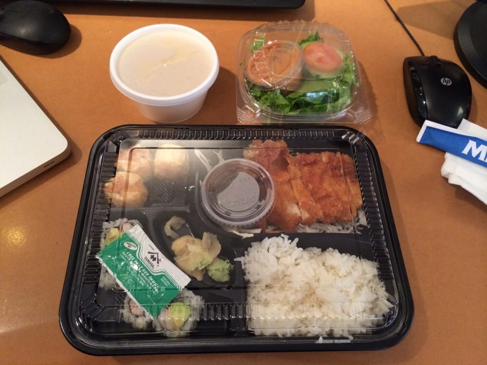 lunch special 10 chicken katsu bento box take out yelp. Black Bedroom Furniture Sets. Home Design Ideas