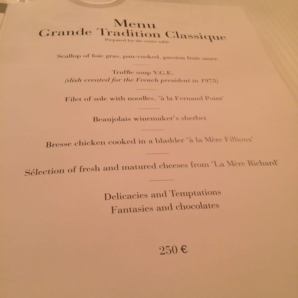 O Select Restaurant Prix