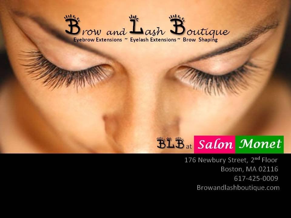 Brow And Lash Boutique At Salon Monet Eyelash Service 176