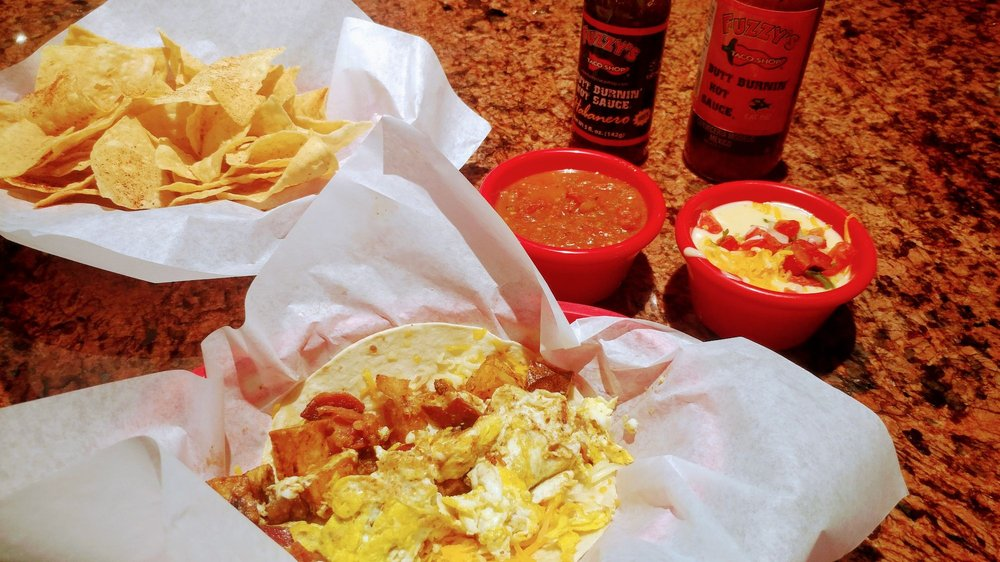 Fuzzy's Taco Shop: 149 Willow Bend Dr, Willow Park, TX
