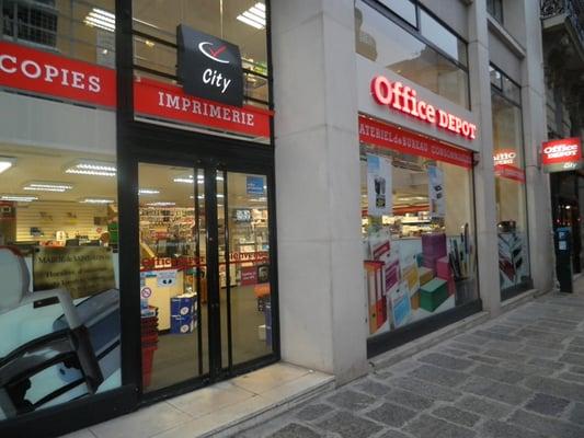 office depot city forniture d 39 ufficio 168 rue du. Black Bedroom Furniture Sets. Home Design Ideas