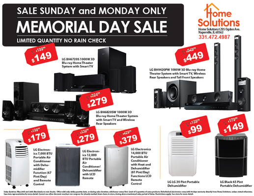 Memorial Day Sale Home Air Conditioner