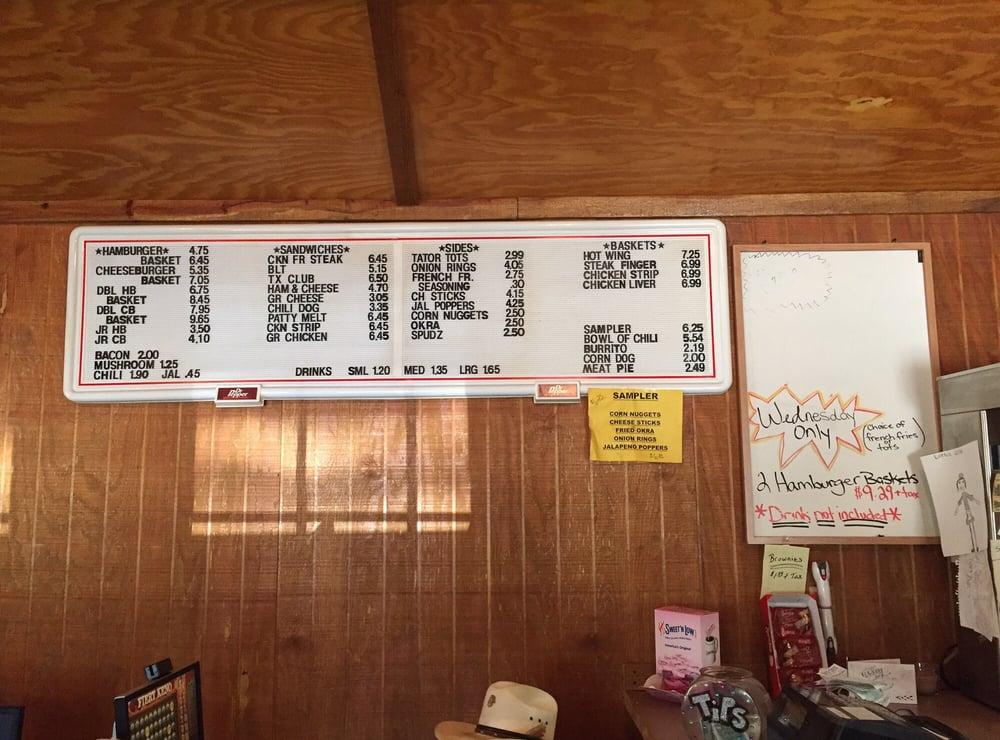 One Stop Grill: 8959 Fm 729, Avinger, TX