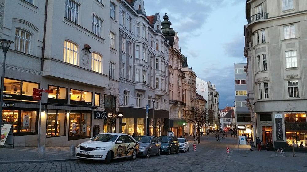 OLD City Center: náměstí Svobody, Brno, JM
