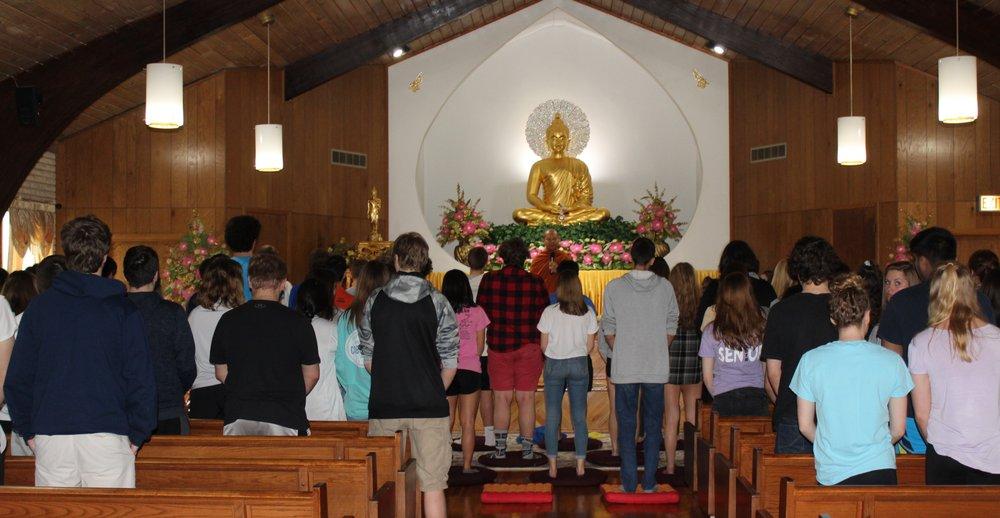 Wat Buddha-Dhamma Meditation Center: 8910 S Kingery Hwy, Willowbrook, IL