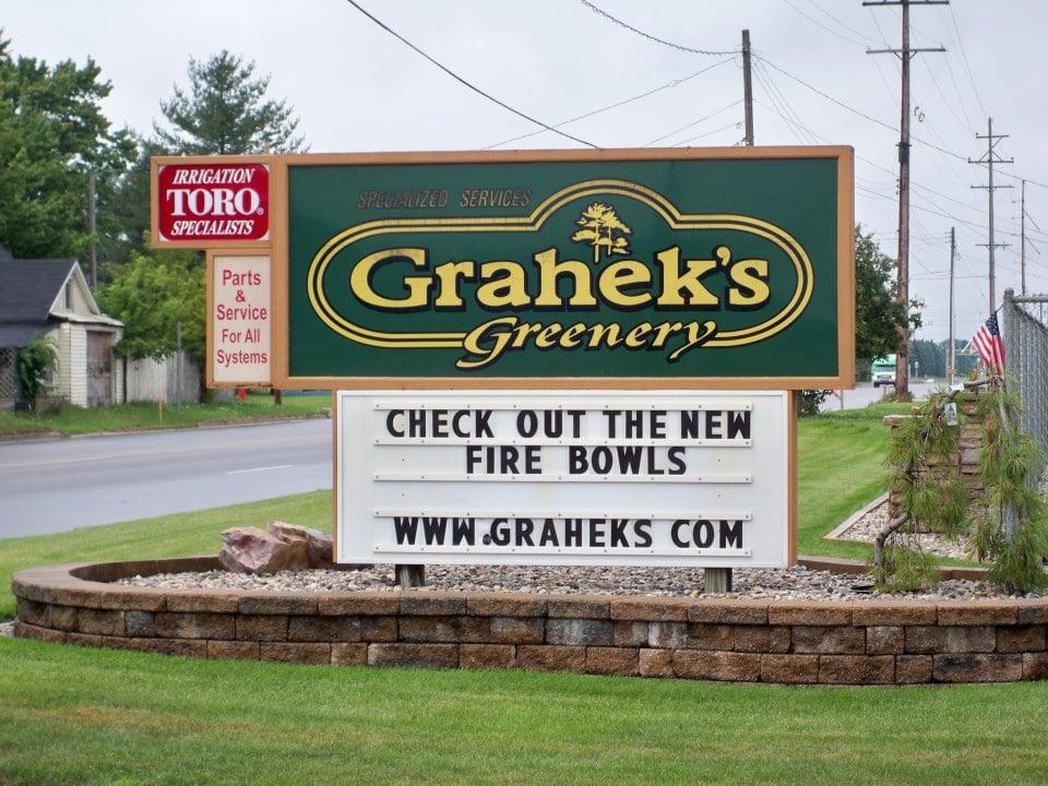 Grahek's Greenery: 515 E 13th St, Cadillac, MI