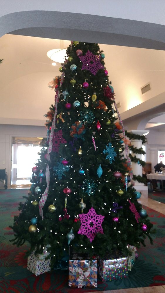 Beautiful Christmas Tree In The Lobby Yelp